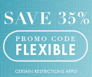 Save with promo code FLEXIBLE